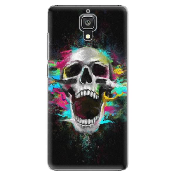 Plastové pouzdro iSaprio - Skull in Colors - Xiaomi Mi4