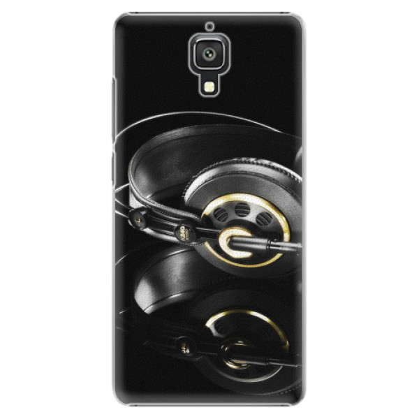 Plastové pouzdro iSaprio - Headphones 02 - Xiaomi Mi4