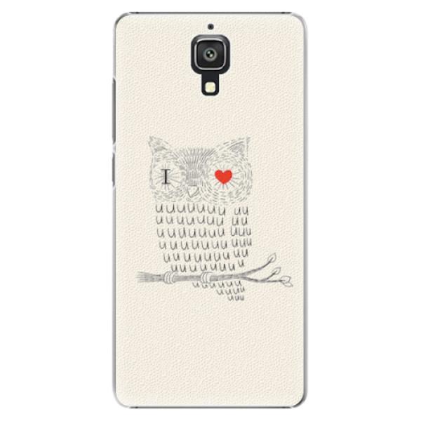 Plastové pouzdro iSaprio - I Love You 01 - Xiaomi Mi4