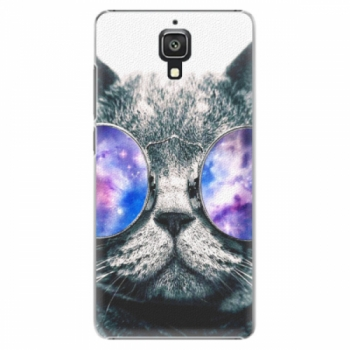 Plastové pouzdro iSaprio - Galaxy Cat - Xiaomi Mi4