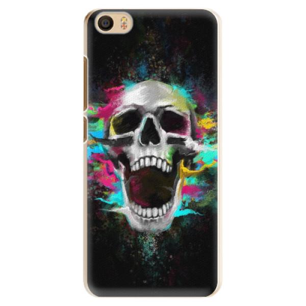 Plastové pouzdro iSaprio - Skull in Colors - Xiaomi Mi5