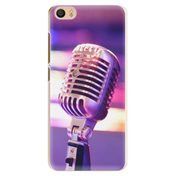 Plastové pouzdro iSaprio - Vintage Microphone - Xiaomi Mi5