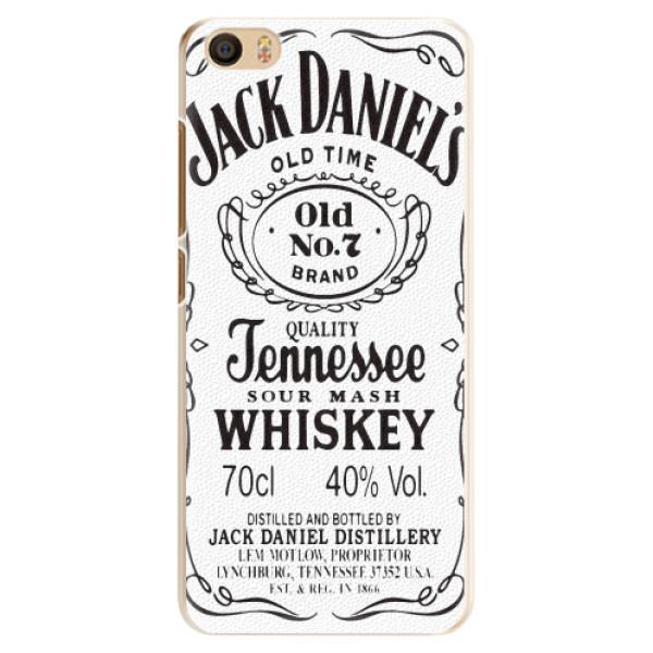 Plastové pouzdro iSaprio - Jack White - Xiaomi Mi5