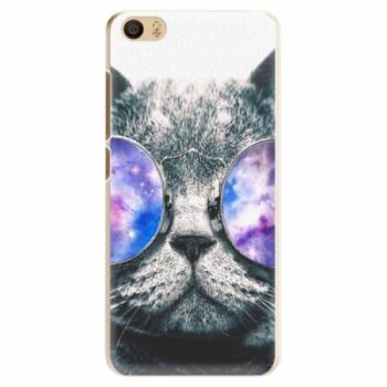 Plastové pouzdro iSaprio - Galaxy Cat - Xiaomi Mi5