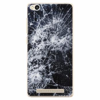 Plastové pouzdro iSaprio - Cracked - Xiaomi Redmi 3