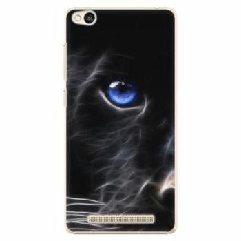 Plastové pouzdro iSaprio - Black Puma - Xiaomi Redmi 3