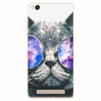 Plastové pouzdro iSaprio - Galaxy Cat - Xiaomi Redmi 3