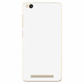 Plastové pouzdro iSaprio - 4Pure - bílý - Xiaomi Redmi 3