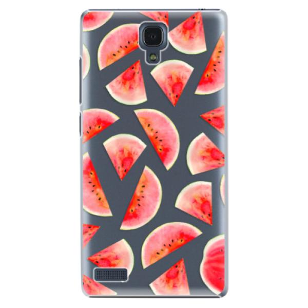 Plastové pouzdro iSaprio - Melon Pattern 02 - Xiaomi Redmi Note