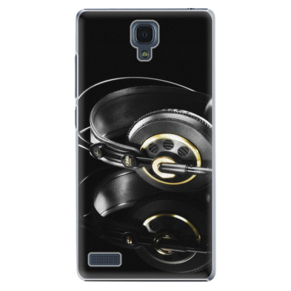 Plastové pouzdro iSaprio - Headphones 02 - Xiaomi Redmi Note