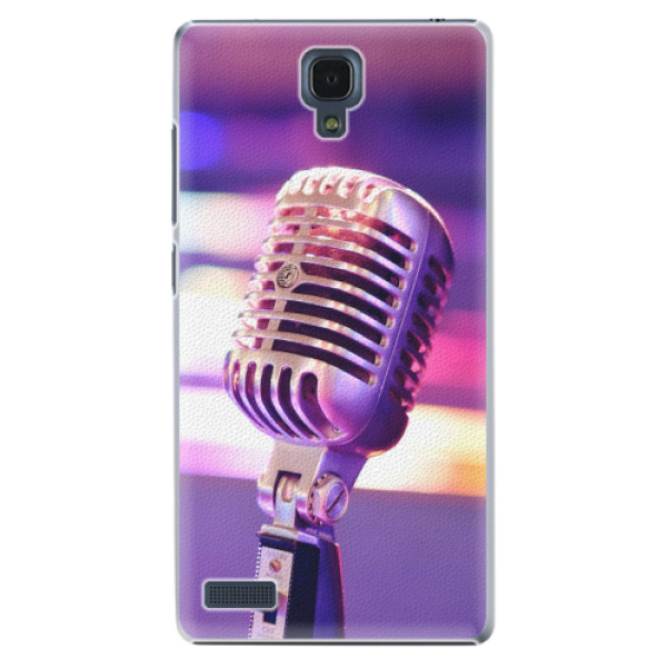 Plastové pouzdro iSaprio - Vintage Microphone - Xiaomi Redmi Note