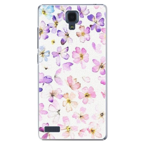 Plastové pouzdro iSaprio - Wildflowers - Xiaomi Redmi Note