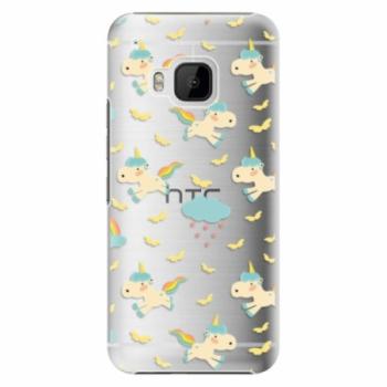 Plastové pouzdro iSaprio - Unicorn pattern 01 - HTC One M9