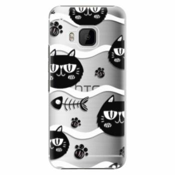 Plastové pouzdro iSaprio - Cat pattern 04 - HTC One M9