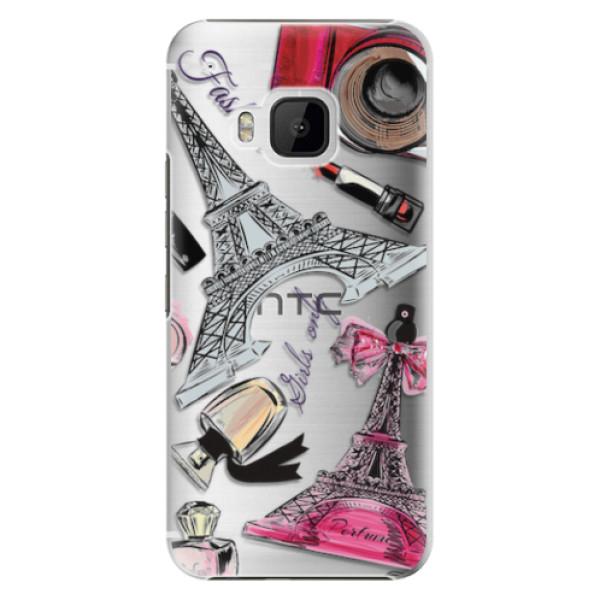 Plastové pouzdro iSaprio - Fashion pattern 02 - HTC One M9