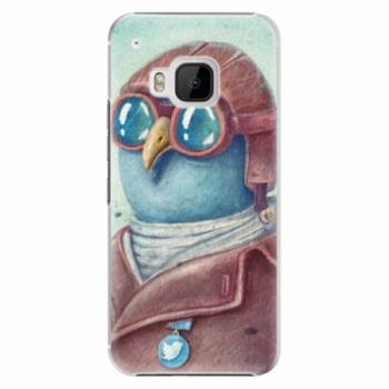 Plastové pouzdro iSaprio - Pilot twitter - HTC One M9