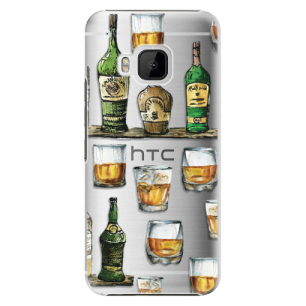 Plastové pouzdro iSaprio - Whisky pattern - HTC One M9