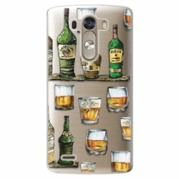 Plastové pouzdro iSaprio - Whisky pattern - LG G3 (D855)