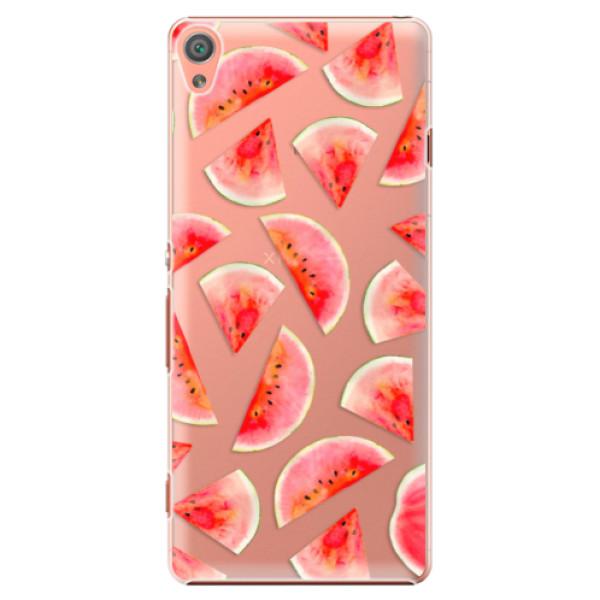 Plastové pouzdro iSaprio - Melon Pattern 02 - Sony Xperia XA