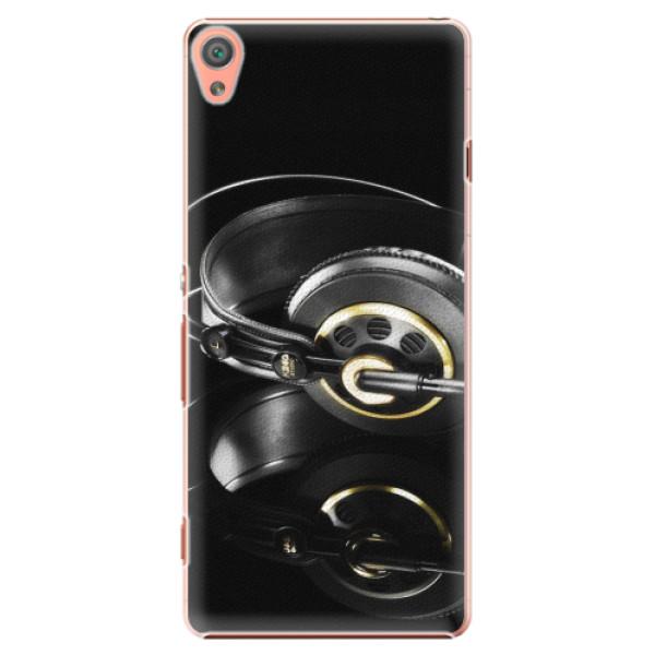 Plastové pouzdro iSaprio - Headphones 02 - Sony Xperia XA