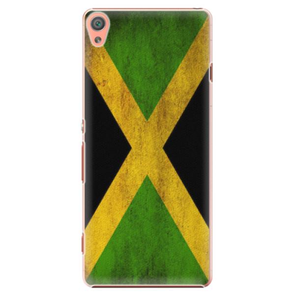 Plastové pouzdro iSaprio - Flag of Jamaica - Sony Xperia XA