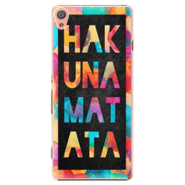 Plastové pouzdro iSaprio - Hakuna Matata 01 - Sony Xperia XA
