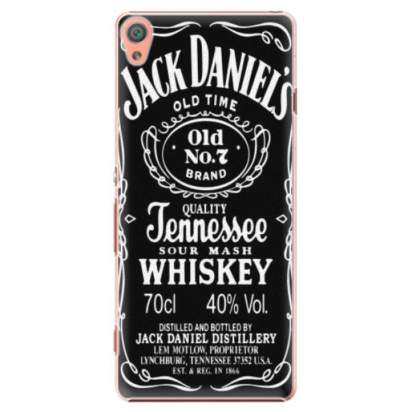 Plastové pouzdro iSaprio - Jack Daniels - Sony Xperia XA