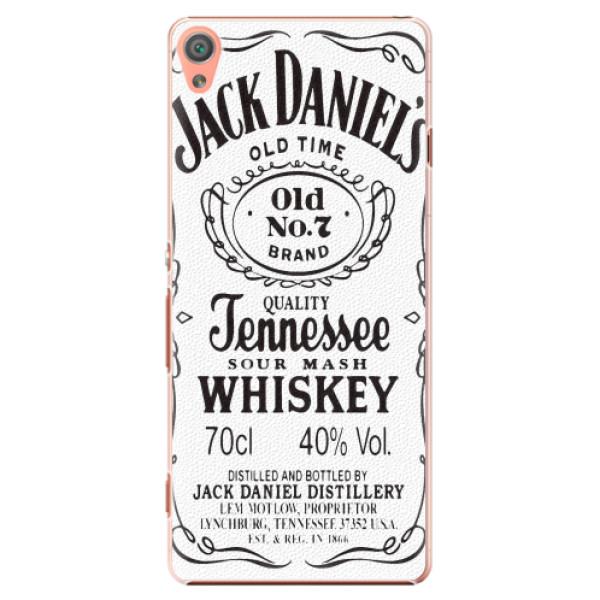 Plastové pouzdro iSaprio - Jack White - Sony Xperia XA