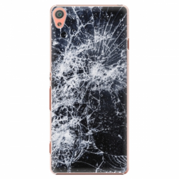 Plastové pouzdro iSaprio - Cracked - Sony Xperia XA