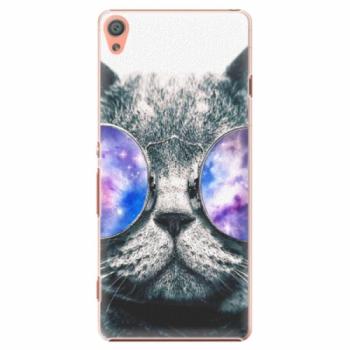 Plastové pouzdro iSaprio - Galaxy Cat - Sony Xperia XA