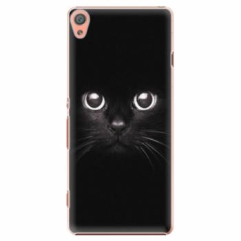 Plastové pouzdro iSaprio - Black Cat - Sony Xperia XA