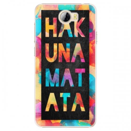 Plastové pouzdro iSaprio - Hakuna Matata 01 - Huawei Y5 II / Y6 II Compact