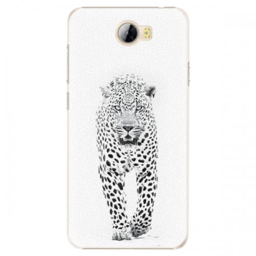 Plastové pouzdro iSaprio - White Jaguar - Huawei Y5 II / Y6 II Compact