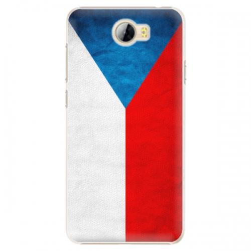 Plastové pouzdro iSaprio - Czech Flag - Huawei Y5 II / Y6 II Compact