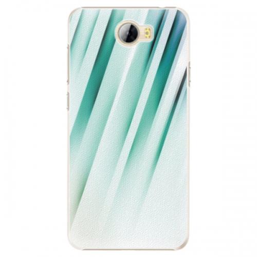 Plastové pouzdro iSaprio - Stripes of Glass - Huawei Y5 II / Y6 II Compact