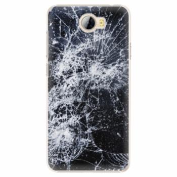 Plastové pouzdro iSaprio - Cracked - Huawei Y5 II / Y6 II Compact