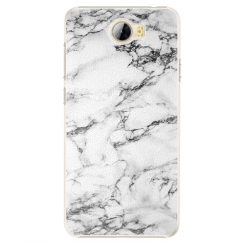 Plastové pouzdro iSaprio - White Marble 01 - Huawei Y5 II / Y6 II Compact