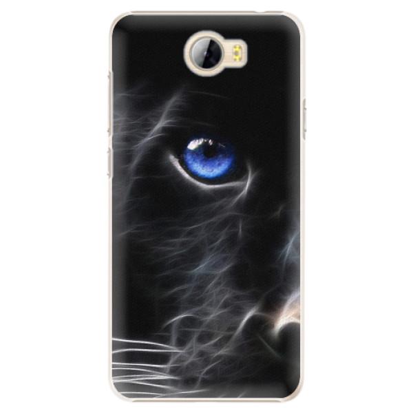 Plastové pouzdro iSaprio - Black Puma - Huawei Y5 II / Y6 II Compact