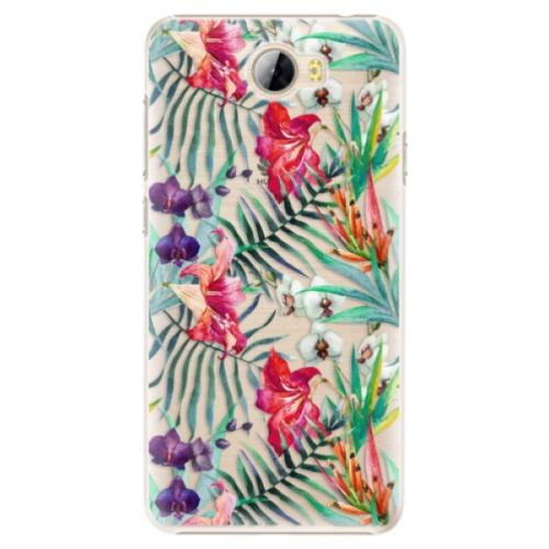 Plastové pouzdro iSaprio - Flower Pattern 03 - Huawei Y5 II / Y6 II Compact