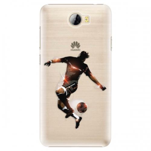 Plastové pouzdro iSaprio - Fotball 01 - Huawei Y5 II / Y6 II Compact