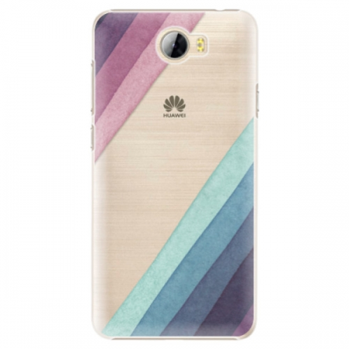 Plastové pouzdro iSaprio - Glitter Stripes 01 - Huawei Y5 II / Y6 II Compact