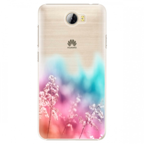 Plastové pouzdro iSaprio - Rainbow Grass - Huawei Y5 II / Y6 II Compact