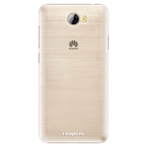 Plastové pouzdro iSaprio - 4Pure - mléčný bez potisku - Huawei Y5 II / Y6 II Compact