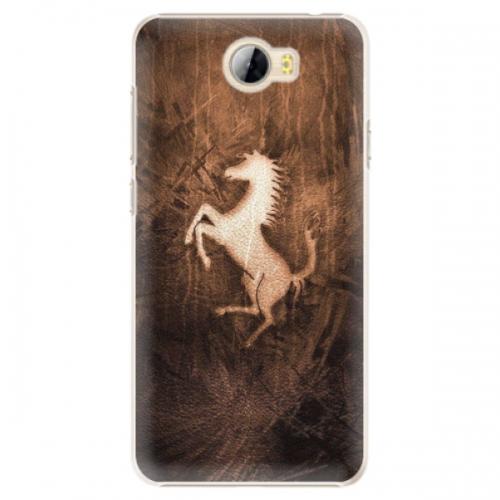 Plastové pouzdro iSaprio - Vintage Horse - Huawei Y5 II / Y6 II Compact