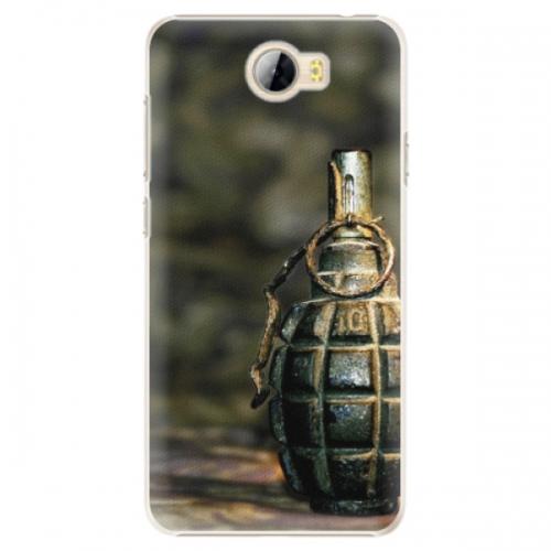 Plastové pouzdro iSaprio - Grenade - Huawei Y5 II / Y6 II Compact