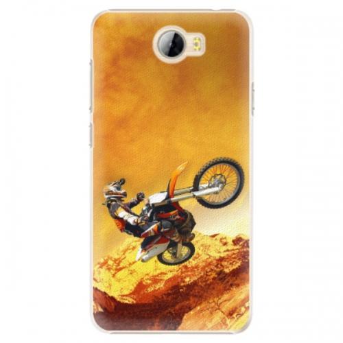 Plastové pouzdro iSaprio - Motocross - Huawei Y5 II / Y6 II Compact