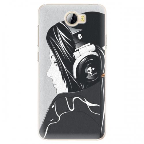 Plastové pouzdro iSaprio - Headphones - Huawei Y5 II / Y6 II Compact