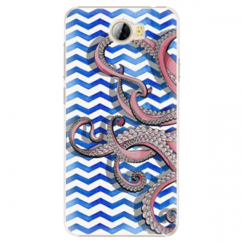 Plastové pouzdro iSaprio - Octopus - Huawei Y5 II / Y6 II Compact