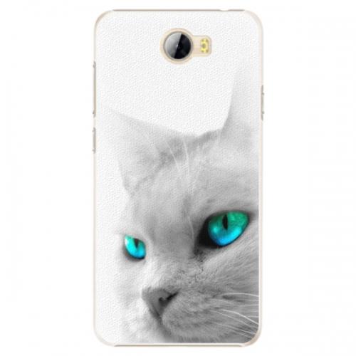 Plastové pouzdro iSaprio - Cats Eyes - Huawei Y5 II / Y6 II Compact