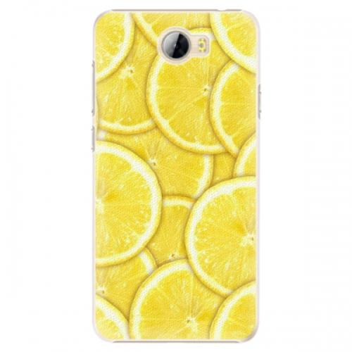 Plastové pouzdro iSaprio - Yellow - Huawei Y5 II / Y6 II Compact